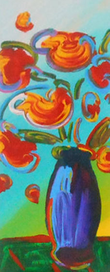 Vase Of Flowers 2010 By Peter Max