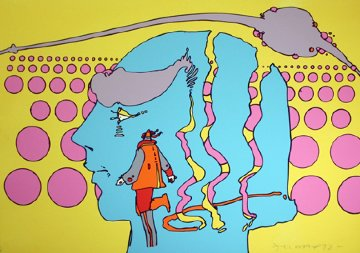 Within And Without 1972 Limited Edition Print - Peter Max