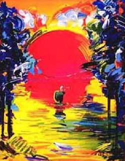 Better World 1991 Limited Edition Print - Peter Max
