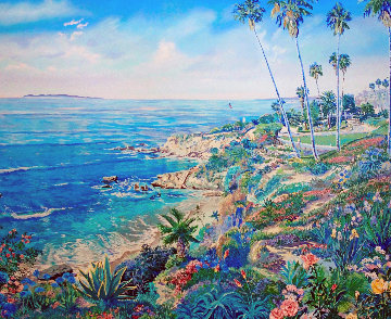 Laguna Morning 1990 Limited Edition Print - Ruth Mayer