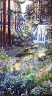 Waterfall Limited Edition Print - Ruth Mayer
