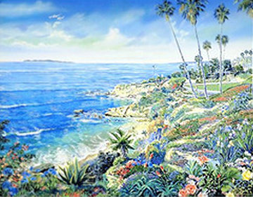 Laguna Morning 1983 Limited Edition Print - Ruth Mayer