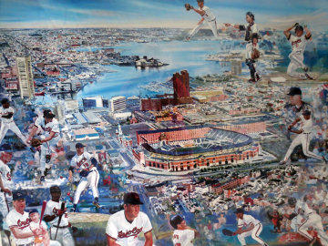 Camden Yards, Baltimore, Md 1998 Limited Edition Print - Ruth Mayer