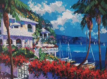 Paradise Bay1997 Embellished Limited Edition Print - Barbara McCann
