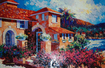 Capri Sunset I Limited Edition Print - Barbara McCann