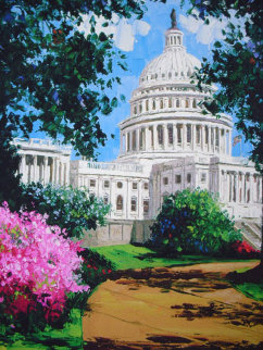 Capitol Washington D.C.2001 Limited Edition Print - Barbara McCann