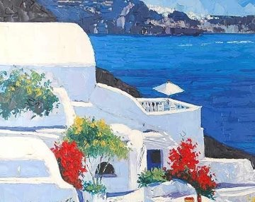 Greek Isles II AP 1999 Limited Edition Print - Barbara McCann