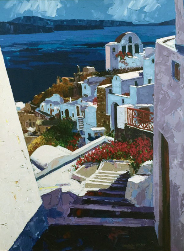 Greek Isles I 1999 Embellished