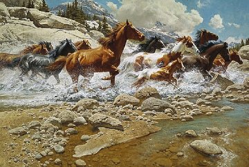 Wild Ones 1991 Limited Edition Print - Frank McCarthy