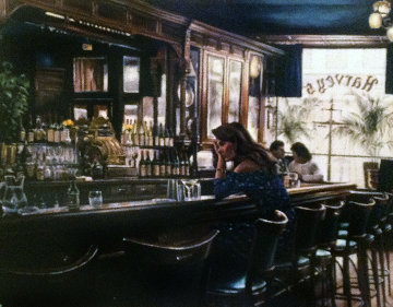 New York Bar AP Limited Edition Print - Harry McCormick