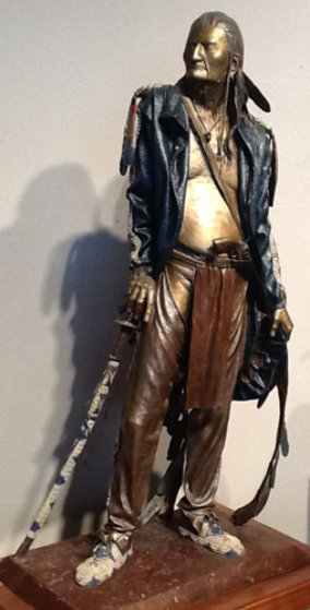 Retired With Honors Masterwork Edition Bronze Sculpture 1988 33 in