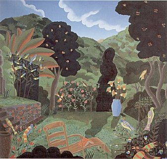 Austrian Garden 1984 Limited Edition Print - Thomas Frederick McKnight