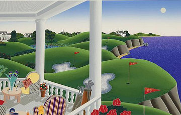 Golf 1990 Limited Edition Print - Thomas Frederick McKnight