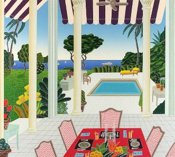 Villa Diana 1991 Limited Edition Print - Thomas Frederick McKnight