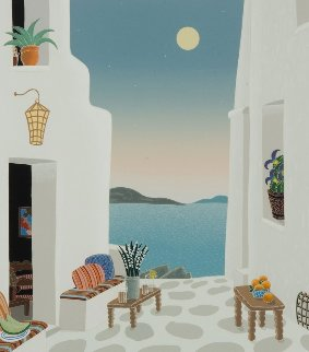 Kastro From Mykonos II Suite 1986 Limited Edition Print - Thomas Frederick McKnight