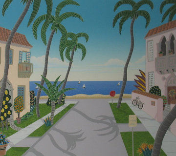 North Ocean Boulevard and South Ocean Boulevard (Florida) Limited Edition Print - Thomas Frederick McKnight
