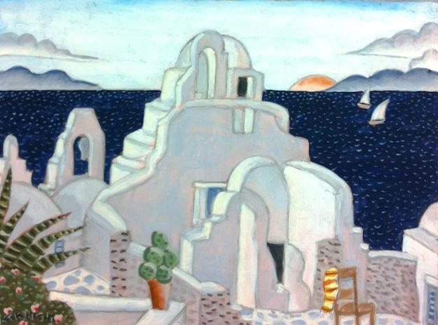 paraportiani church mykonos greece   thomas frederick mcknight