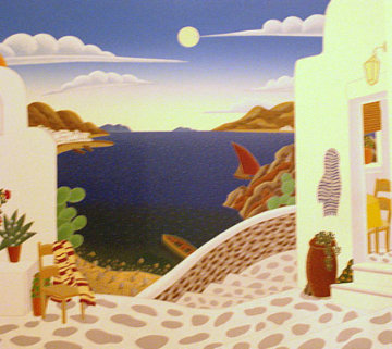 Aegean Cove 1993 Limited Edition Print - Thomas Frederick McKnight