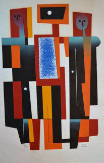 Abstract Limited Edition Print - Carlos Merida