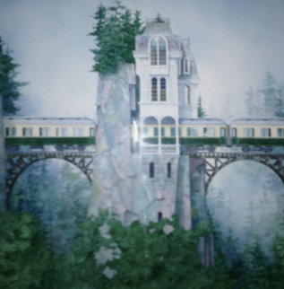 Crossing  Over PP 1994 Limited Edition Print - Daniel Merriam