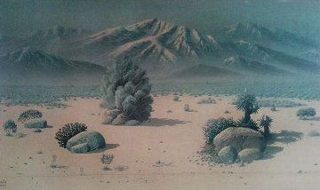 Desert Unique 1990 51x27 Limited Edition Print - Maurice Meyer