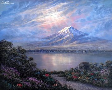Twilight At Fuji Japan Limited Edition Print - Maurice Meyer