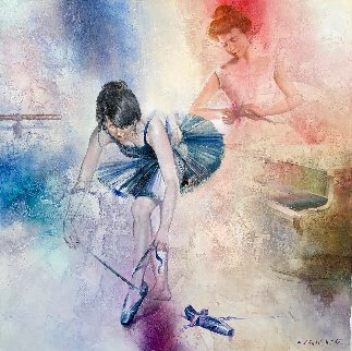 Ballet School 2011  Original Painting - Michael Gorban