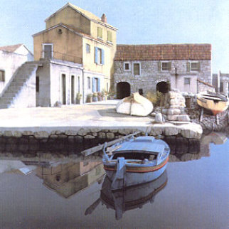 Fishing Village 1986 Limited Edition Print - Zvonimir Mihanovic