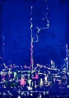 New York By Night PP Limited Edition Print - Miles Davis