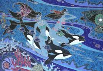 Island of the Orcas Limited Edition Print - Zu Ming Ho
