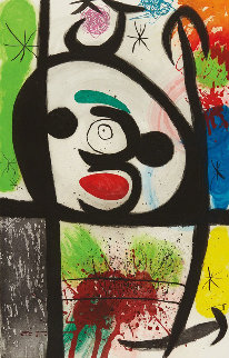 La Femme Toupie (The Spinning Woman), 1974 Limited Edition Print by Joan Miro