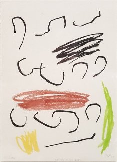 Untitled Lithograph  (from Obra Inedita Recent) 1964 Limited Edition Print - Joan Miro