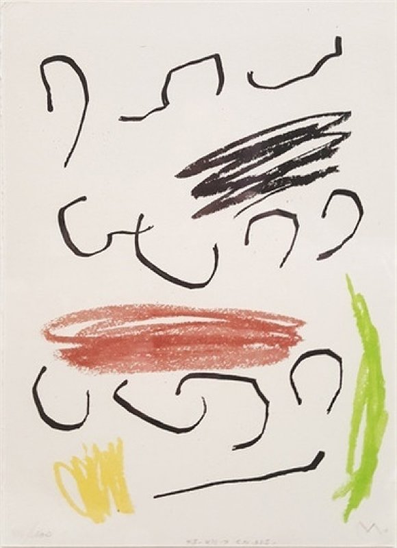 Untitled Lithograph  (from Obra Inedita Recent) 1964