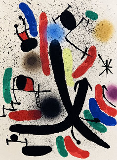 Untitled (Miro Lithograph 1 - Plate 1)  1972 Limited Edition Print - Joan Miro