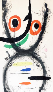 Prise a L'hamecon 1969 Limited Edition Print - Joan Miro