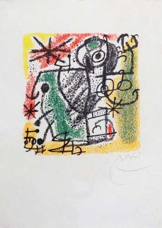 Essences of the Earth 1968 Limited Edition Print - Joan Miro