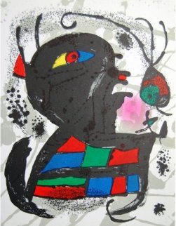 Miro Lithographs III, Pl. 6 1977 Limited Edition Print - Joan Miro