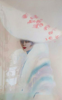 White Over White 1989 Limited Edition Print - Victoria Montesinos