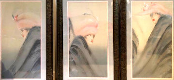 Woman Triptych  Limited Edition Print - Victoria Montesinos