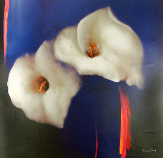 Royal Lilies 2008 Embellished Limited Edition Print - Victoria Montesinos