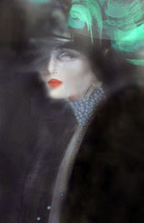 Woman with Green Hat 1984 Limited Edition Print - Victoria Montesinos