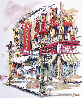 Chinatown Limited Edition Print - Wayland Moore