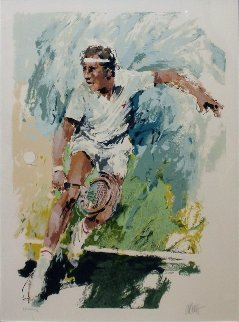 Jimmy Connors Limited Edition Print - Wayland Moore