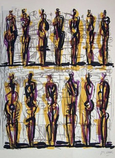 Heads Figures And Ideas 1958 Limited Edition Print - Henry Moore