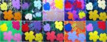 Flowers Suite of 10 Silkscreens 2007 Limited Edition Print - Sunday B. Morning