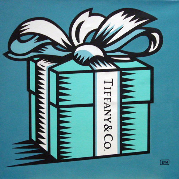 Little Blue Box 2008 30x30