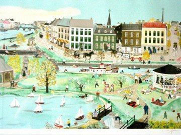 Canal Park 1987 Limited Edition Print - Will Moses