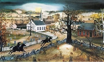 Sleepy Hollow 1991 Limited Edition Print - Will Moses