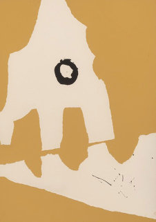 Ten Works by Ten Painters: Untitled, from X + X 1964 Limited Edition Print - Robert Motherwell