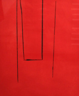 Untitled (Trapeze Open) 1972 Limited Edition Print - Robert Motherwell